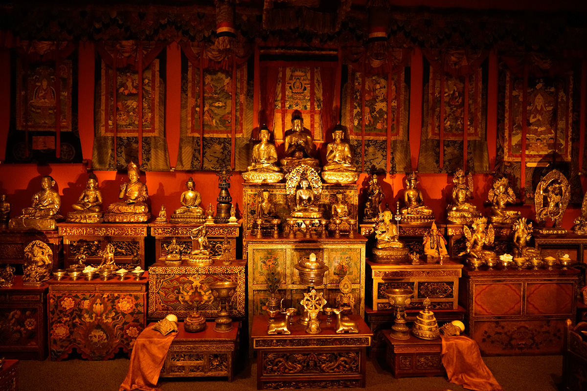 Alice Kandell Tibetan Buddhist Shrine Room, Arthur M. Sackler Gallery, Washington, DC
