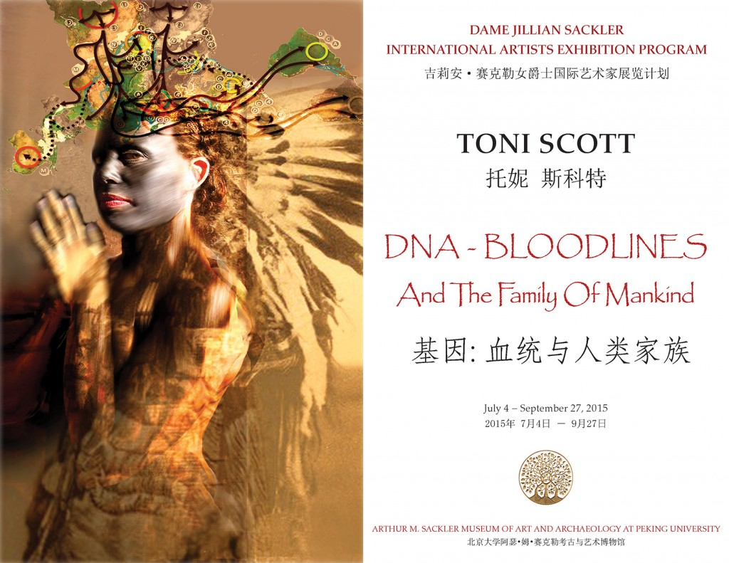 TONI SCOTT: DNA – BLOODLINES AND THE FAMILY OF MANKIND